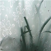 High quality Acid Etched Frosted Glass thickness from 3mm to 12mm
