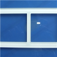 SYS High quality touch screen wall switch glass faceplate manufacturer 2-19MM