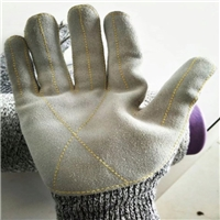 Anti-cutting gloves for glass processing worker