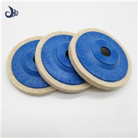 Chinese supply high quality, wool felt  wheel used for glass grinding