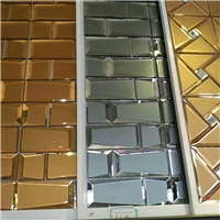Decorative materials, mirror mosaic glass tile, wall decoration.