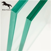 Frosted Tempered 10.10.2 Laminated Glass