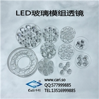 LED Lamp Glass Lens LED Glass Lens Module