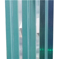 Edge no mismatched Sentryglas laminated glass