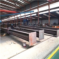 Steel columns for steel structural building construction
