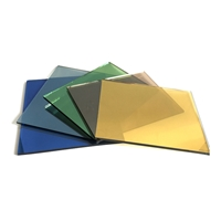 Best selling reflective insulated tempered solar architectural glass