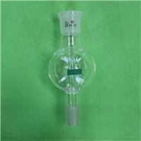 100ml/200ml Glass anti-splash adapter with Ground Joint 14#19#24#29# Shenzhen lab glassware Supplier