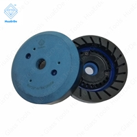 Resin Binder Cup Grinding Wheel(Turbo) Cutter Grinder for Carbide 150*15*10mm Metalworking Accessories for beveling machine