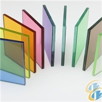 colorful 3mm+pvb+3mm laminated glass for decorate or building with ISO/3C certificate