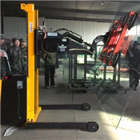 Forklift attached galss lifter,vacuum lifter