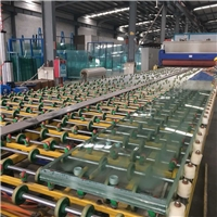 44.56MM Thickness 6100MM Height Jumbo-size Tempered Laminated Glass