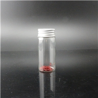 Linlang shanghai factory products saffron bottle with silver color cap