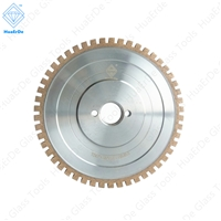CNC Diamond Glass Grinding Wheel Upgraded Segmented Diamond Flat Edge Wheel(Brass Body) Tool Metalworking