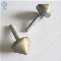 Straight shank Diamond Sintering Chamferer Glass Countersink Bit Core Drill Bit