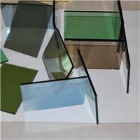 Vidrio tintado verde, vidrio flotado verde, vidrio reflectante verde