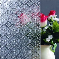 patterned glass flora,diamond rainbow,