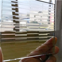 6 mm acid etched glass