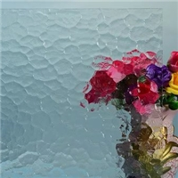 4mm5mm6mm patterned building/furniture glass clear/colored  with Certification