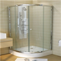 aluminum alloy framed glass shower enslosure 02