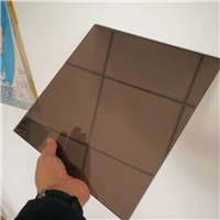 Safety Color/Tinted Transluscent  PVB Laminated Glass 6.38mm-12.38mm