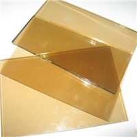 euro bronze tinted/color float building/furniture glass with certification 4mm