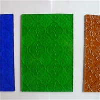 5mm green/blue/bronze patterned building/furniture glass clear/colored  with Certification