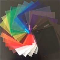 Safety Clear/Color Transluscent  PVB Laminated Glass 6.38mm-12.38mm