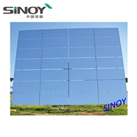 CSP applications 1.1mm thickness High reflectivity Low iron ultra clear solar mirrors