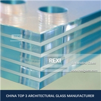 6.38mm-20.76mm Float Laminating Glass, Clear, Low Iron, Blue, Green, Bronze, Grey and Back colors