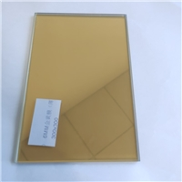 Temperable heat reflective coated glass