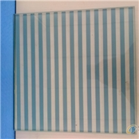 4mm silk screen printing ceramic frit color painted tempered glass