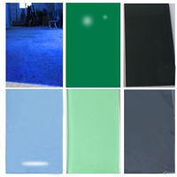 dark/light green/grey/blue and bronze tinted/color float building/furniture glass with certification