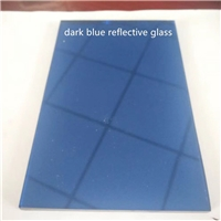 4mm5mm6mm8mm10mm12mm dark blue float/reflective building/furniture glass with high quality