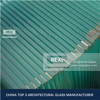 3mm-19mm flat/curved Edge Polished Tempered Glass Panels, CE, SGCC&AS/NZS certified