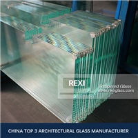 3mm-19mm flat/curved Edge Polished Toughened Glass Panels, CE, SGCC&AS/NZS certified