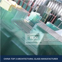 3mm-19mm Fully Toughened Glass, zero defect, CE, SGCC&AS/NZS certified