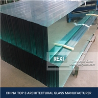 Max. 3.3*12m Oversized Toughened glass, zero defect, CE, SGCC&AS/NZS certified
