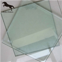 3.2/4mm Ultra Clear Textured Tempered Solar Glass