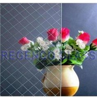 6mm Clear/Colored/Decoration Art Wired Glass