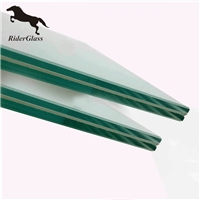 3mm clear laminated low e glass