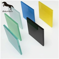 Color Tinted SGP PVB laminated glass balcony glass decorate tempered glass
