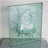 Bulletproof Glass Safety Glass 8mm triple laminated