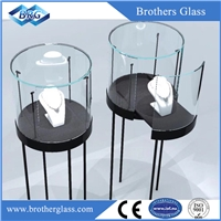 Customized Luxury Jewelry Display Glass Boxes