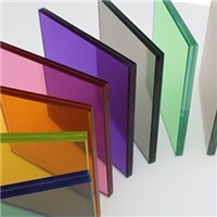 12.76MM Color Laminated Glass Safety Transluscent  PVB Glass