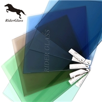 6mm Blue Tinted Float Glass For Windows