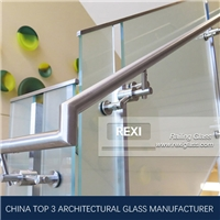 Glass Stair Railing by Tempered Glass, Laminated Glass, CE, SGCC&AS/NZS certified