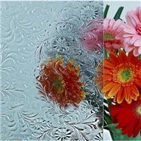 Watercube Wood Woven Flora Patterned glass