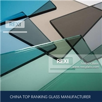 3mm-12mm Float Glass Tinted, Green, Blue, Pink, Black, Grey, Bronze colors, CE certified