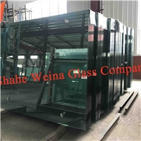 5mm clear float glass from Weina Glass with high light transmittance