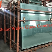 4mm clear float glass from Weina Glass with high light transmittance